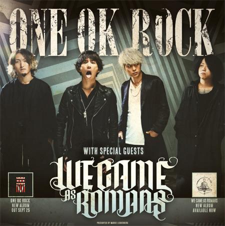 ONE OK ROCK: Tour 2015