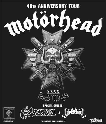 Motörhead: 40th Anniversary Tour 2016