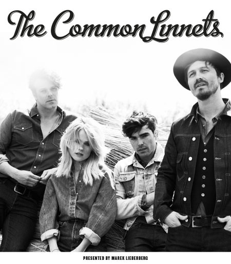 The Common Linnets: Tour 2015