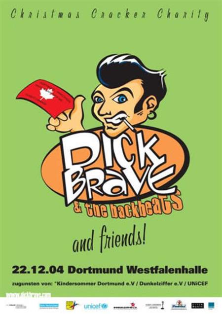 Dick Brave & The Backbeats: Christmas Cracker Charity