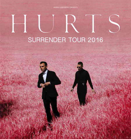 Hurts: Surrender Tour 2016