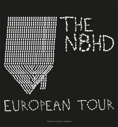 The Neighbourhood: European Tour 2015