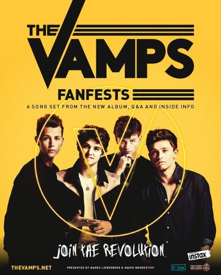 The Vamps: Fanfest 2015