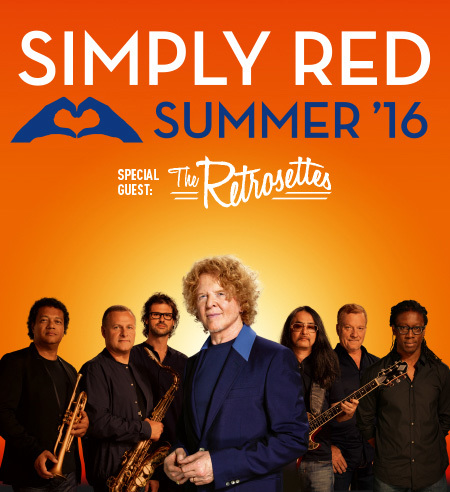 Simply Red: Summer '16