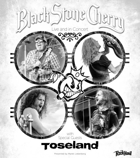 Black Stone Cherry: Live and in Concert 2016