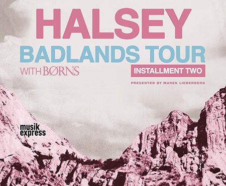 Halsey: Badlands Tour 2016