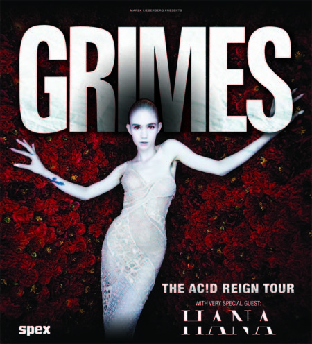 Grimes: The Ac!d Reign Tour 2016