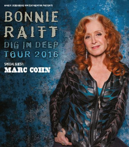 Bonnie Raitt: Dig In Deep Tour 2016