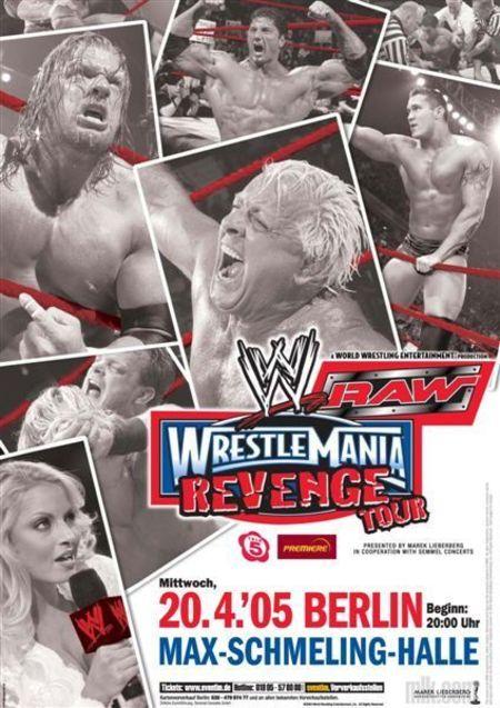 WWE RAW: WrestleMania Revenge Tour