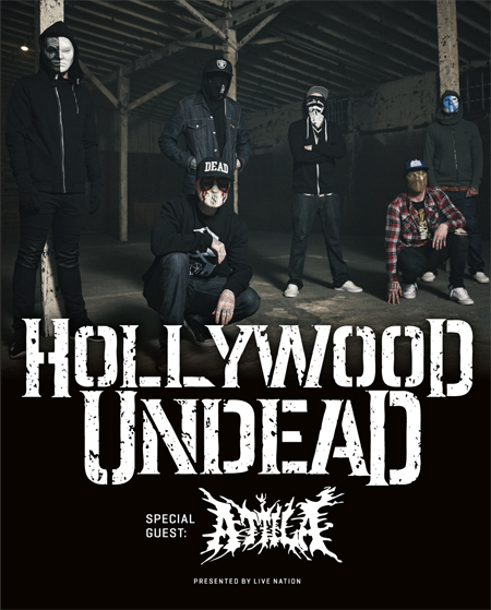 Hollywood Undead: Tour 2016