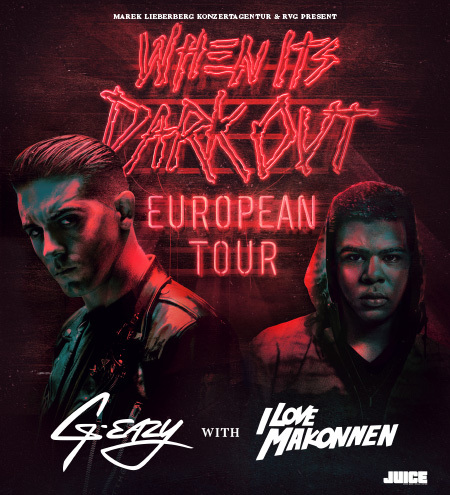 G-Eazy: When Its Dark Out Tour 2016