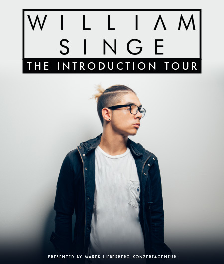 William Singe: The Introduction Tour 2016