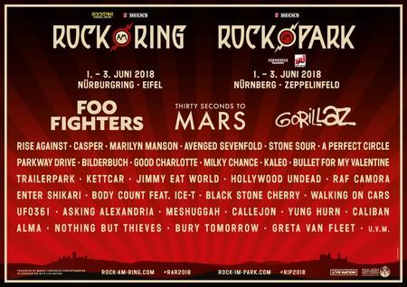 Rock am Ring: 01. - 03. Juni 2018