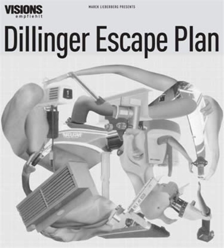 Dillinger Escape Plan: Tour 2005