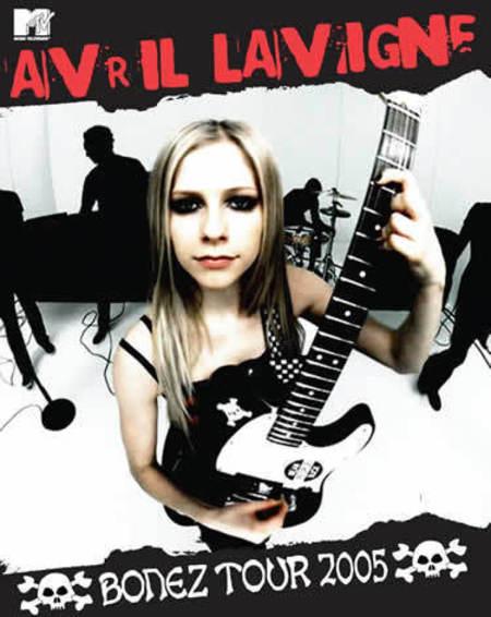 Avril Lavigne: Bonez Tour 2005