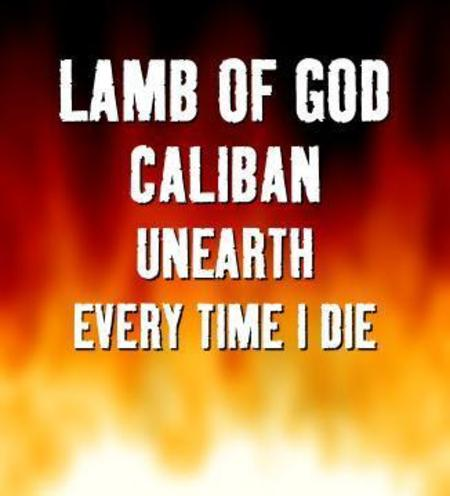 Lamb of God, Caliban, Unearth und Every Time I Die: 2005