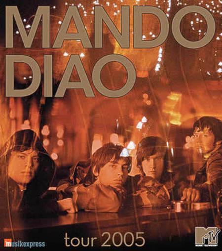 Mando Diao: Oktober 2005