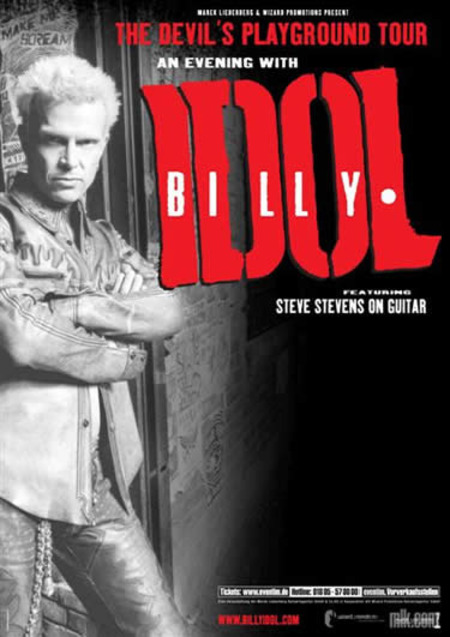 Billy Idol: The Devil's Playground Tour