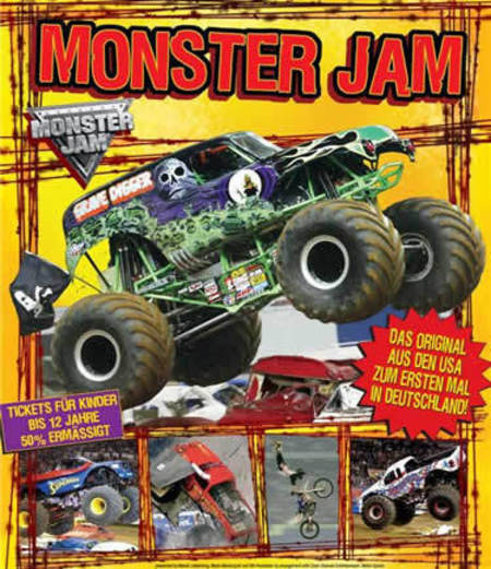 Monster Jam: European Tour