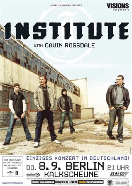 Institute: with Gavin Rossdale
