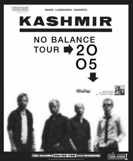 Kashmir: No Balance Tour 2005