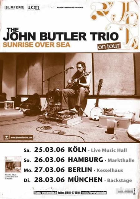 John Butler Trio: Tour 2006
