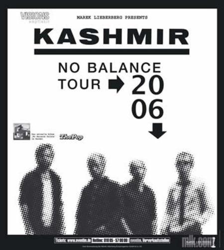 Kashmir: No Balance Tour 2006