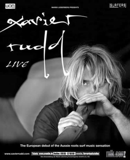 Xavier Rudd: Tour 2006