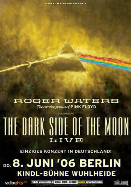 Roger Waters: The Creative Genius of Pink Floyd performing The Dark Side Of The Moon - Live