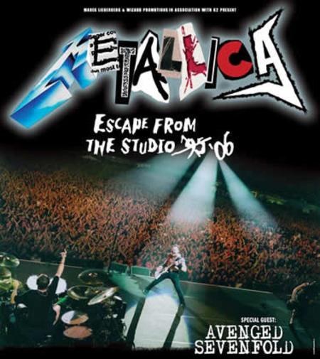 Metallica: Escape From The Studio 2006