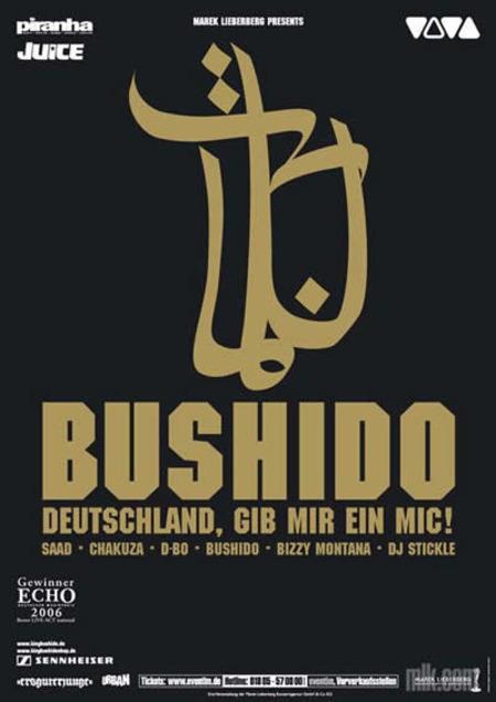 Bushido: Deutschland, gib mir ein Mic! Tour 2006