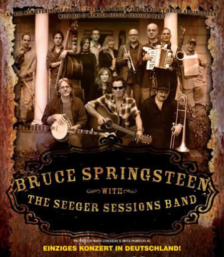 Bruce Springsteen: With the Seeger Sessions Band - Einziges Konzert in Deutschland!