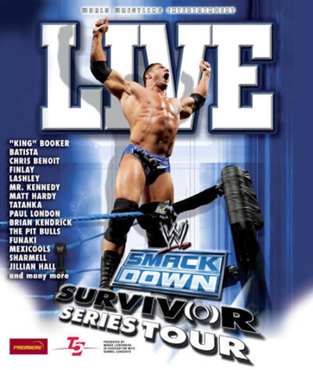 wwe smackdown survivor series tour 2006 mlk. Black Bedroom Furniture Sets. Home Design Ideas