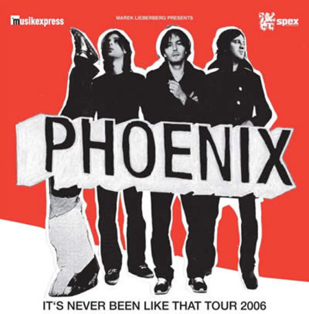 Phoenix: Its Never Been Like That Tour