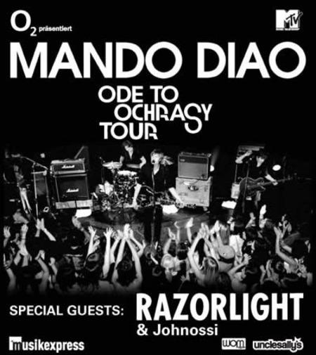 Mando Diao: Ode To Ochrasy Tour 2006