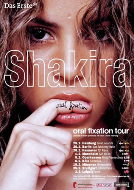Shakira: Oral Fixation Tour 2007
