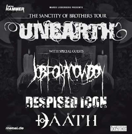 Unearth: The Sanctity Of Brothers Tour