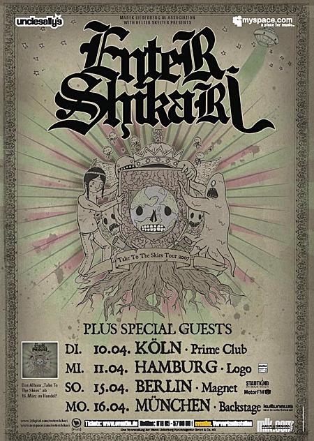 Enter Shikari: Tour 2007