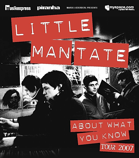 Little Man Tate: About What You Know Tour 2007