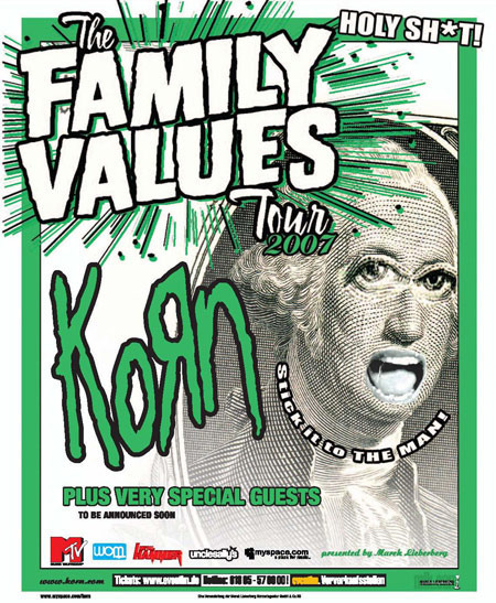 Korn: The Family Values Tour 2007