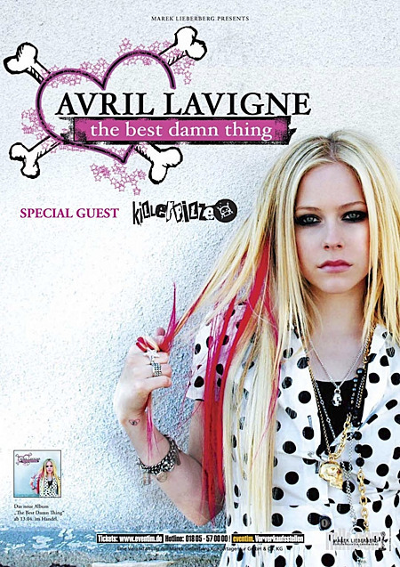 Avril Lavigne: The Best Damn Thing Tour