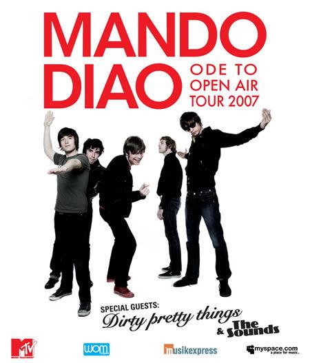Mando Diao: Tour 2007