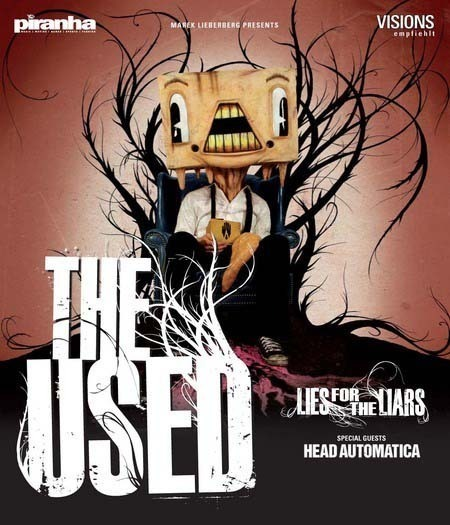 The Used: Lies For The Liars Tour