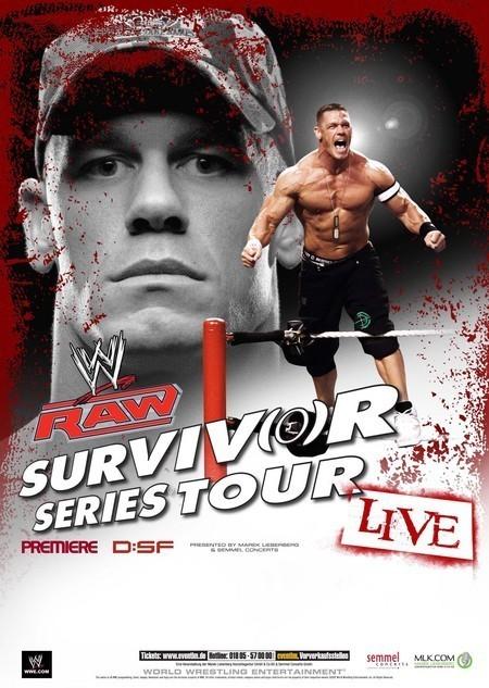 WWE RAW: Survivor Series Tour