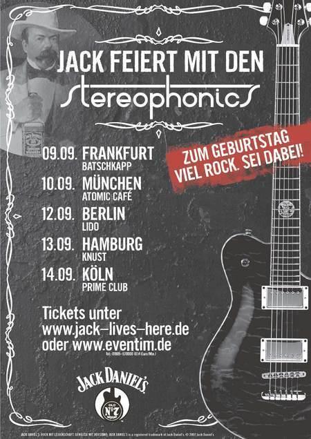 Stereophonics: Jack Daniel's Rock 'n' Birthday Tour