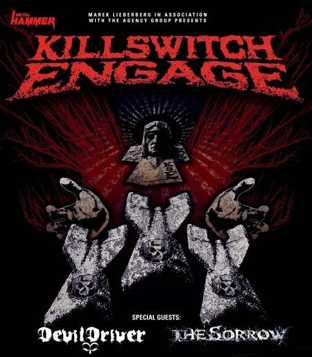 Killswitch Engage: Einzige Show in Deutschland!