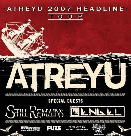 Atreyu: Tour 2007