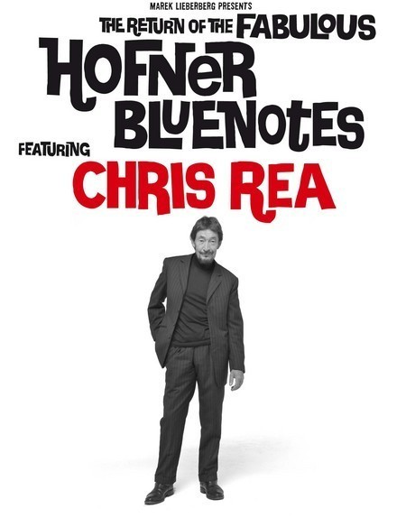 Chris Rea: featured by The Fabulous Hofner Blue Notes