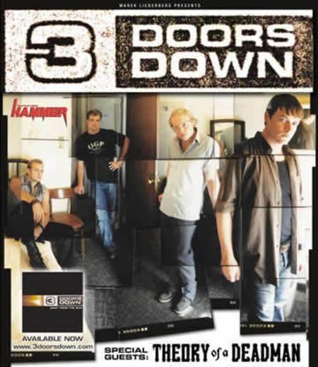 3 Doors Down: Tour 2003