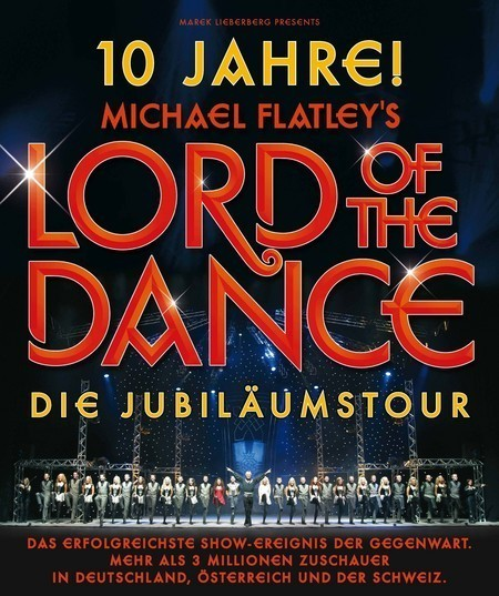 Lord of the Dance: 10 Jahre Jubiläumstour 2008!